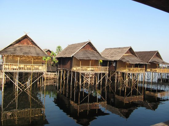 Golden Island Cottages - Nampan : hotel's view