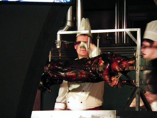 Stargorod: Grilled pig