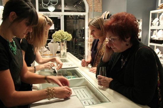 Erin Gallagher Jewelry : We offer events at our store every night of the week!