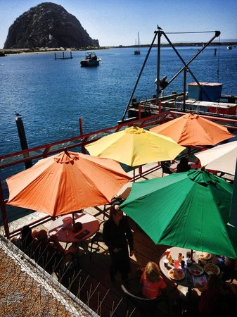 Dutchman's Seafood House: View from our deck