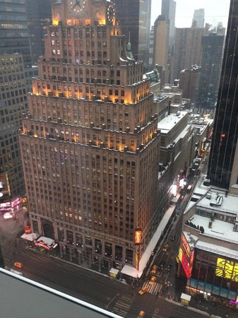 Millennium Broadway New York Times Square: View from my room.
