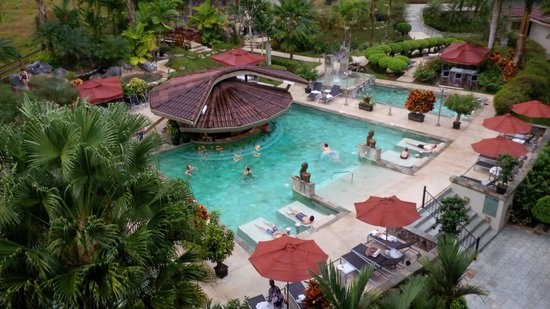 The Royal Corin Thermal Water Spa & Resort: View from the the 4th floor