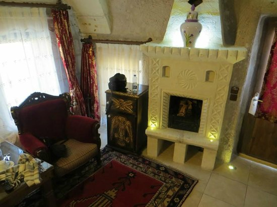 Ayvali, Turkey: Sitting Room