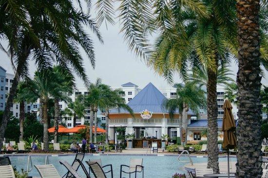 Bluegreen Fountains Resort: Tiki bar