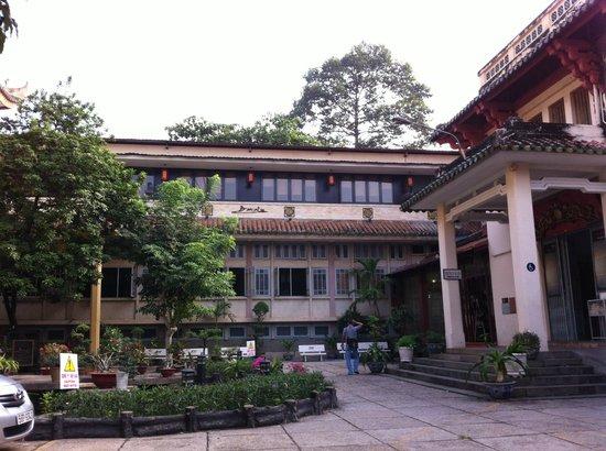 Historisches Museum: Pátio do Museu de História do Vietnã