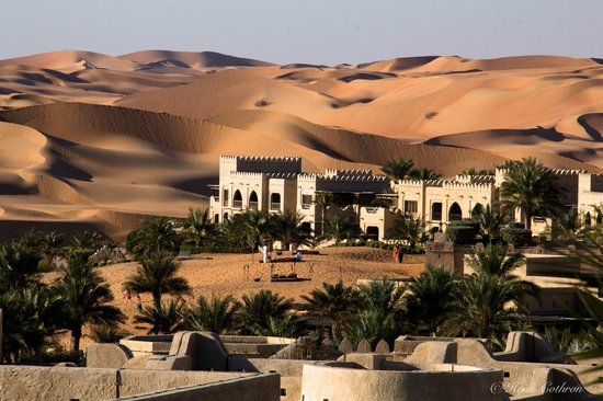 Qasr Al Sarab Desert Resort by Anantara: view from villa over the grounds