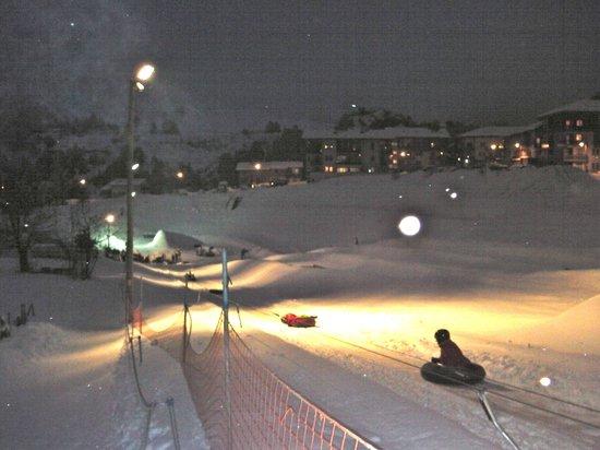 Résidence Goélia Les Flocons d'Argent : Ski Tubing