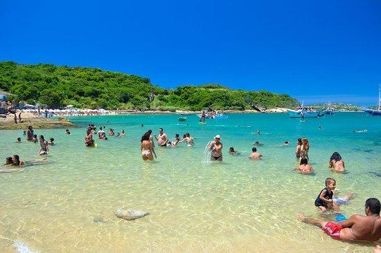 Azedinha Beach : Mar calmo