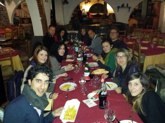 A Massaria: Direttamente da Barcellona pg una comitiva di buoni mangioni.. :-)
