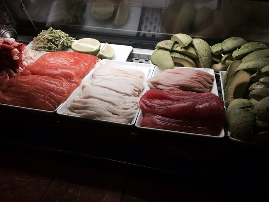 Sunda: Fresh fish for sushi