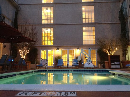 The Westin Palo Alto: Taken from the jacuzzi. (Feb 2014)