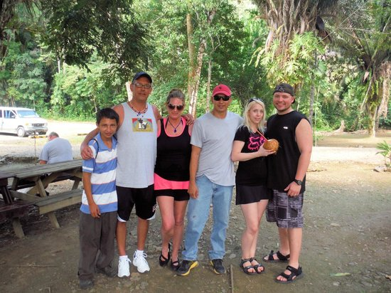 """Challenge Travel and Tours: Our tour """"family"""" for the day"""
