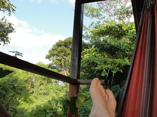 Finca Maresia: Hanging out on the hammock