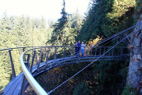 Parque y Puente colgante de Capilano: Cliff Walk