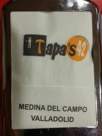 Cafe Bar Tapas 42 : Logo