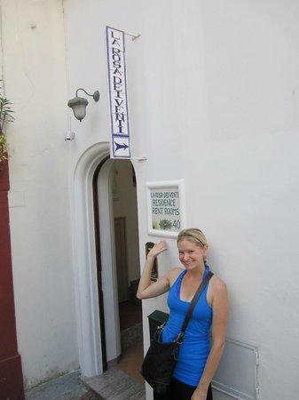 La Rosa Dei Venti: Entrance to hotel