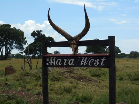Mara West Camp : Entrance to Mara West