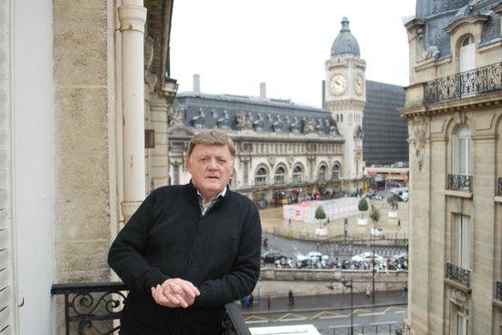 Hotel Palym: Myself on Hotel Balcony
