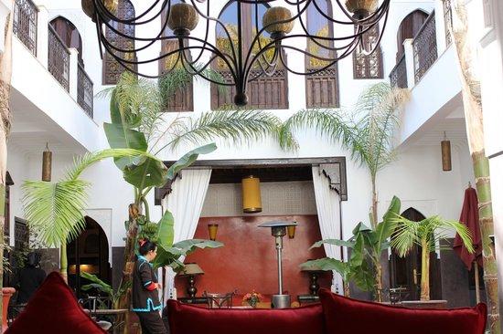 Riad Pachavana: Riad Ground floor