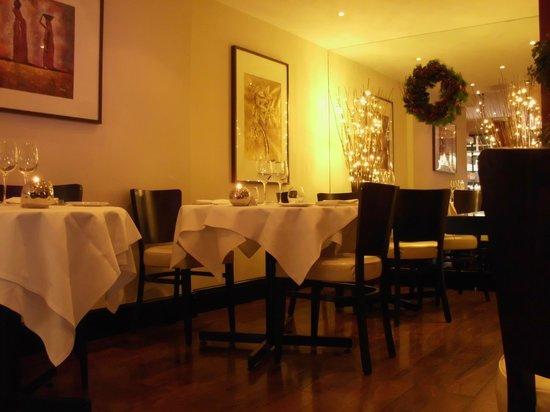 Khyber Restaurant: Vue du restaurant