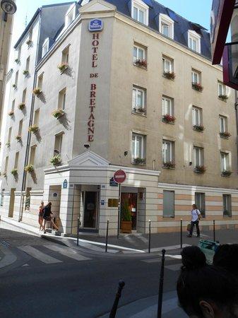 Best Western Bretagne Montparnasse: hotel area