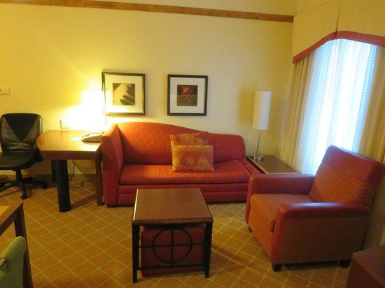 Residence Inn Providence Coventry: Living Room