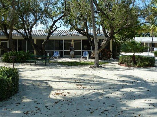 Islander Resort: View looking in
