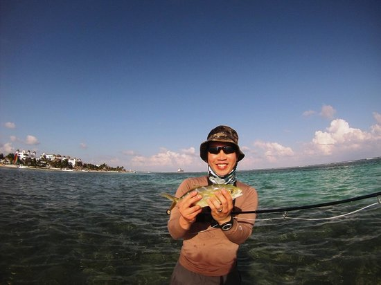The Western Caribbean Fly Fishing School: The yellow jack!