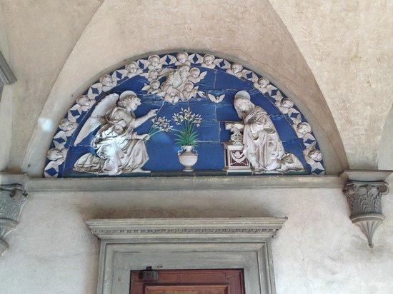 Museo degli Innocenti: Andrea della Robbia Terracotta