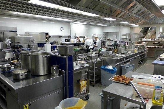 Hotel Louis C. Jacob: Die Küche
