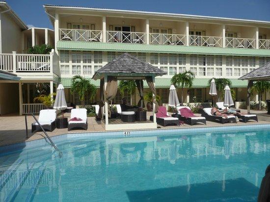 blu St Lucia : la piscine