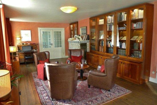 Hotel Louis C. Jacob: Bibliothek