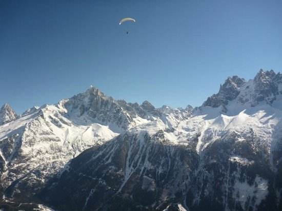 Absolute Chamonix Paragliding: Beautiful day to fly!
