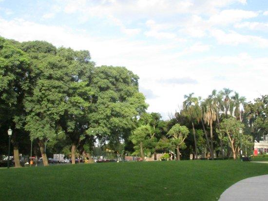 Urban Suites Recoleta Boutique Hotel: Areas verdes cercanas