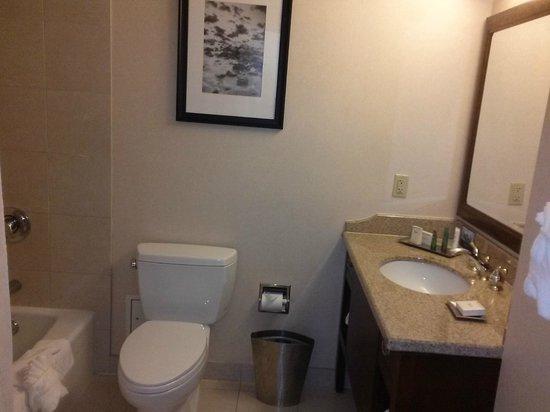 Hilton Providence : Bathroom