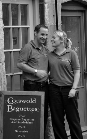 Mr and Mrs Cotswold Baguettes!!