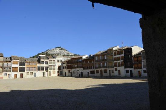 Plaza del Coso: Desde la entrada