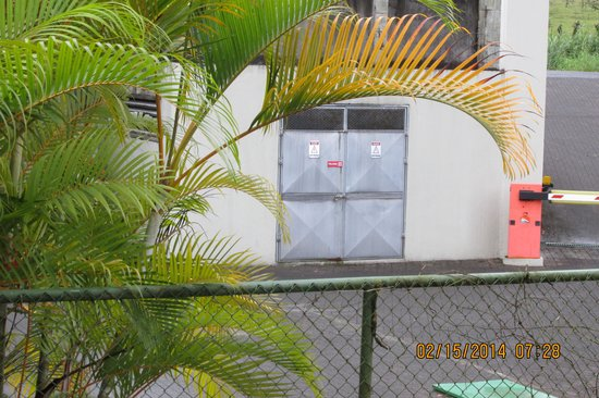 The Royal Corin Thermal Water Spa & Resort: Hotel Electrical Power Boxes
