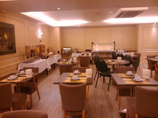 Hotel Burlington : Desayuno Buffet