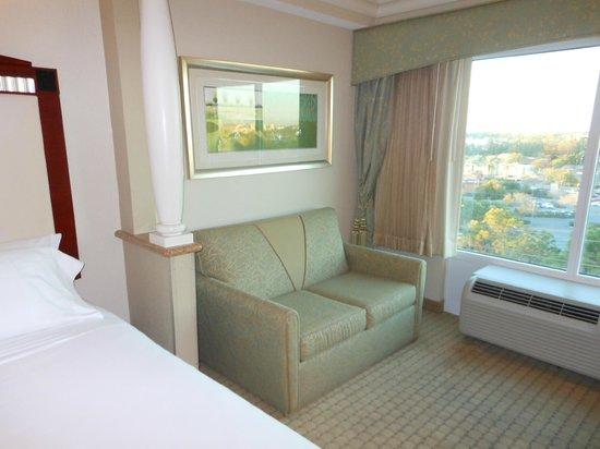 Radisson Hotel Orlando - Lake Buena Vista: Sofa