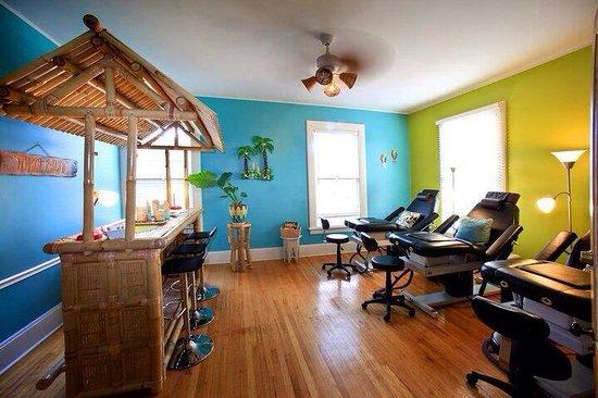 Jasmine Salon & Spa: Nail room