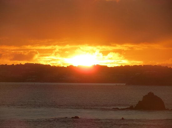 Ocean 362 : Sunset over St. Thomas from Gallows Point
