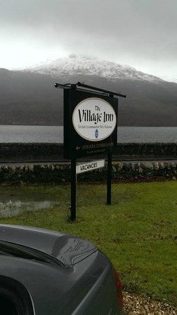The Village Inn: View from car park