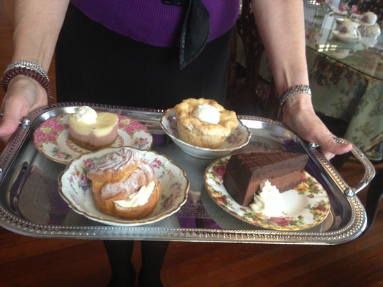 The Potted Geranium Tea Parlor & Gifts: Fabulous Dessert Tray