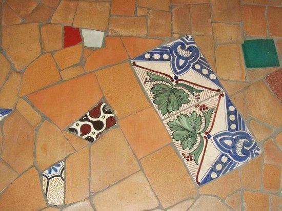 Decumani Hotel de Charme : Beautiful floors at Decumani Hotel