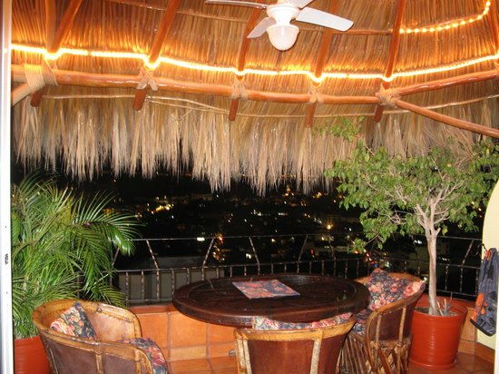 Casa Isabel: Palapa and Incredible view from #401