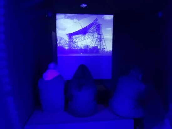 Jodrell Bank Discovery Centre: Space Pavilion - intro film