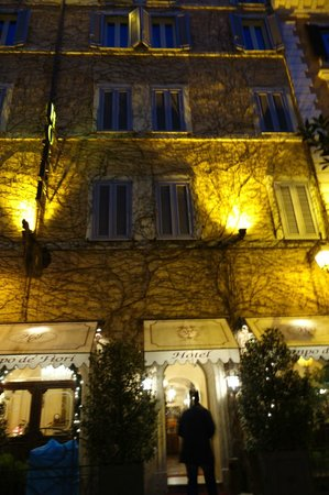 hotel from outside Picture of Boutique Hotel Campo de Fiori