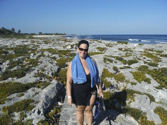 Parc Xel-Ha : La plage derrière et celle où a été tournée le film le lagon bleu