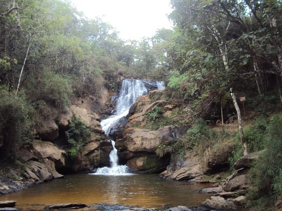 Sao Thome das Letras, MG : Cachoeira Véu de Noiva